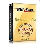 WIN Kassensoftware BlitzKasse Restaurant M für Gastronomie. 50 Tische, 2 Drucker....