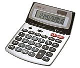 Genie 560 T 12-stelliger Design-Tischrechner (Dual-Power (Solar und Batterie),...