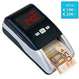 Geldprüfer Geldprüfgerät Euro Banknotenprüfer Geldscheinprüfer SR-2100 von...