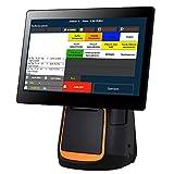 15' All-in-ONE Kassensystem für Einzelhandel, Kiosk, Imbiss, Strassenverkauf, Laden:...