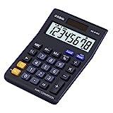 CASIO Tischrechner MS-8VERII, 8-stellig, Währungsumrechnung, Gummifüße,...