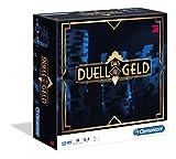 Clementoni 69066 Das Duell um die Geld, Brettspiel für 3 - 6 Spieler, Pokerspiel...