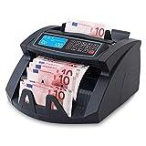 Stückzahlzähler Geldzählmaschine Geldzähler Euro SR-3750 LCD UV/MG/IR von...