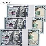 Chinco 300 Stücke Kopieren Geld 100 Dollar Bills Prop Scheine Doppelseitig Gedruckt...