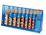 Die coole Euro Münzsortierer - Spardose - Sparschein im Geschenkkarton