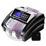 MVPower Geldzählmaschine Banknotenzähler: automatische Zählung und Selbstprüfung,...