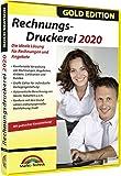 Rechnungsdruckerei 2020 Gold Edition Rechnungen, Lieferscheine, Angebote, Mahnungen...