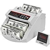 VEVOR FJ0288 Geldzählmaschine Weiß mit Echtheitprüfung Banknotenzähler 1000...
