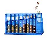ECB Münzsortierer Euro Spardose | Für Büro und Kinderzimmer | Als Geschenk für...