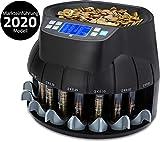 ZZap CS40 - Automatischer EURO Münzzähler & -sortierer - Geldzählmaschine...