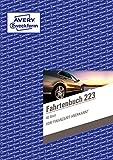 AVERY Zweckform 223 Fahrtenbuch (für PKW, vom Finanzamt anerkannt, A5, auf 80 Seiten...